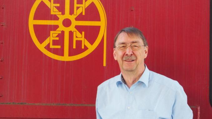 Dr. Ralf Fellenberg, Vorsitzender des Eisenbahn- und Heimatmuseum Erkrath-Hochdahl e.V.