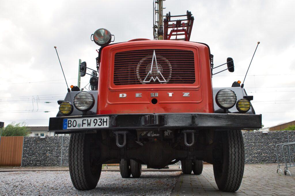 Historische Einsatzfahrzeuge, Lokschuppen Erkrath