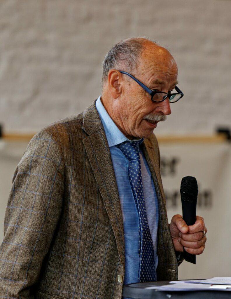 Dr. Hans-Joachim Dietz, 1. Vorsitzender des BGV Erkrath Foto: Lutz Wulfestieg