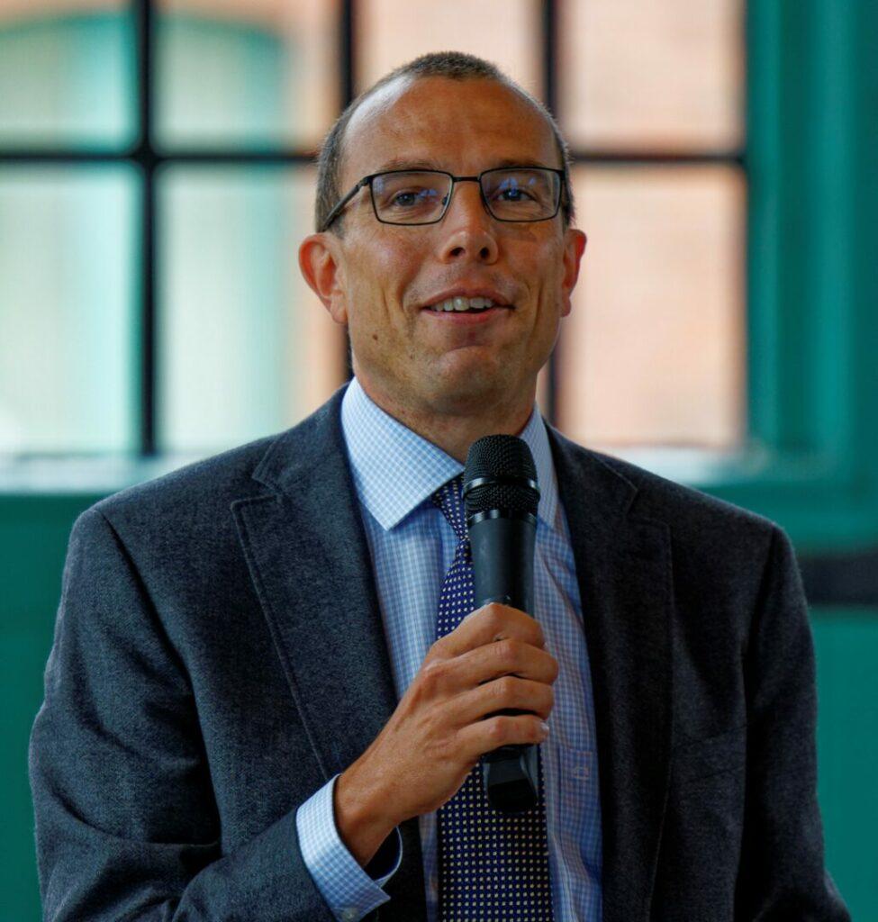Dr. Georg Eckert von der Bergischen Universität Wuppertal. Foto: Lutz Wulfestieg
